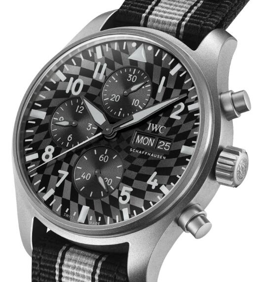 """Limited Edition Replica IWC Pilot's Watch Chronograph """"IWC X Hot Wheels Racing Works"""" 2"""